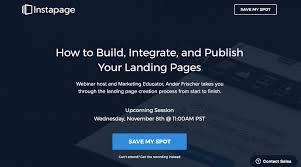 Designing and Creating Effective Landing Pages